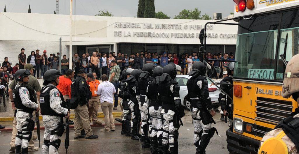 CNDH solicita al INM medidas cautelares a favor de migrantes en Piedras Negras