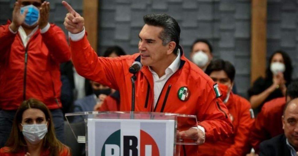 Denuncian montaje de Alejandro Moreno en enfrentamientos en el CEN del PRI