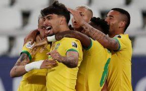 Paquetá celebra el gol del triunfo sobre Chile. (Foto: Reuters).