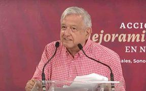 """""""No habrá divorcio entre pueblo y gobierno"""", afirma AMLO en Sonora"""