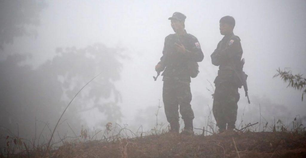 Fuerzas de seguridad de Birmania matan en redada a por los menos 25 personas