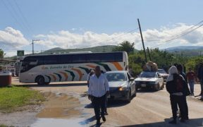Evelyn Salgado cancela evento en Tixla, Guerrero, por bloqueo de normalistas para deslindarse de Morena