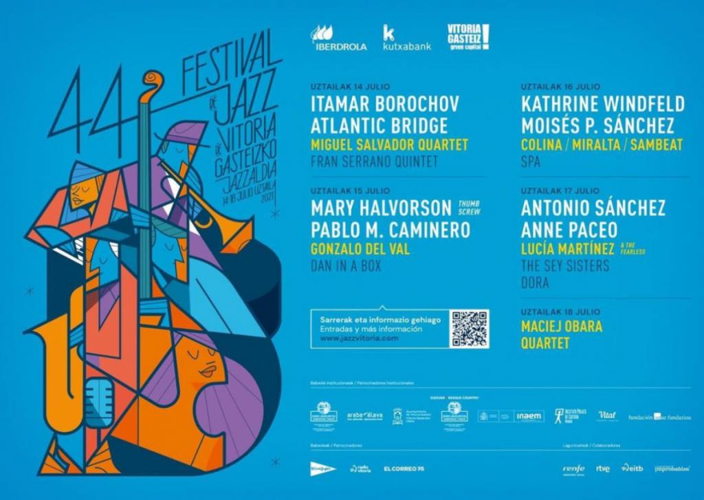 El presidente del Festival de Jazz de Vitoria compartió detalles de su nueva propuesta