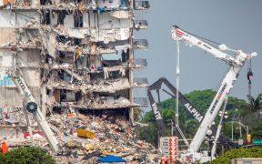 Preparan demolición del edificio que colapsó en Miami