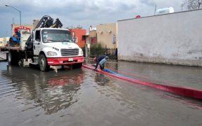 Conagua alerta por posible desbordamiento del río Lerma en el Estado de México