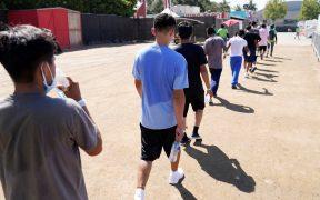 Aumentan 40% los casos de Covid en los centros de detención de migrantes en EU