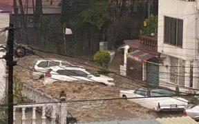 Lluvias provocan severos daños en el Estado de México, Conagua prevé más torrenciales para hoy