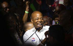 Eric Adams gana las primarias demócratas a la alcaldía de Nueva York