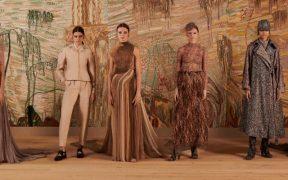 Dior regresa a la pasarela del mundo real con un espectáculo texturizado