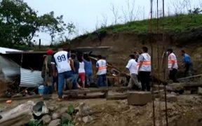 Se reportan cinco muertes en Chiapas a consecuencia de fuertes lluvias