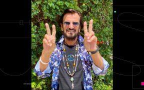 La NASA celebra el cumpleaños de Ringo Starr con 'Peas and Love'