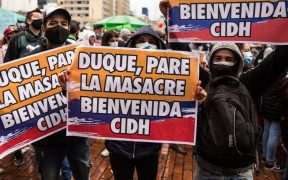 La CIDH recomienda a Colombia cambios en la Policía por la violencia en las protestas