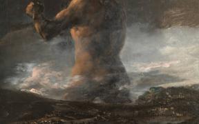 Museo Del Prado atribuye de nuevo 'El Coloso' a Goya