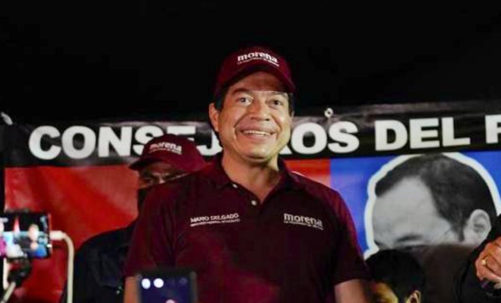 Abucheos contra Mario Delgado muestran división que no hay, dice Morena
