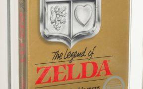 Ejemplar intacto de Leyenda de Zelda se vende por 870 mil dólares