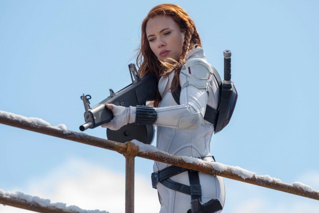 'Black Widow' de Marvel rompe récord en taquilla en su primer fin de semana