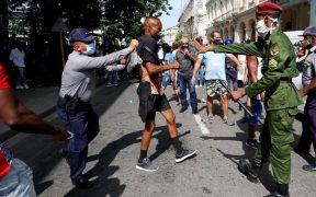 CIDH denuncia agresiones del gobierno de Cuba contra manifestantes