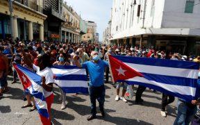 "Díaz-Canel acusa a EU de las protestas en Cuba; ""es un grave error"", responde Blinken"