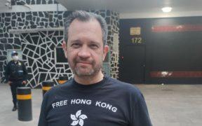 René Bolio levanta denuncia por agresión afuera de la embajada de Cuba en México