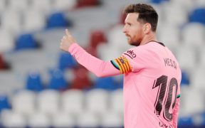 Messi revisará las condiciones del nuevo contrato con el Barcelona. (Foto: EFE).