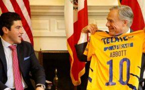 Samuel García y gobernador de Texas hablan sobre salud, seguridad y comercio en reunión