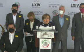 Legisladores de Morena anuncian acción de inconstitucionalidad contra blindaje de Cabeza de Vaca
