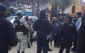 Pobladores de Santiago Textitlán retienen a 44 elementos policiales: Gobierno de Oaxaca