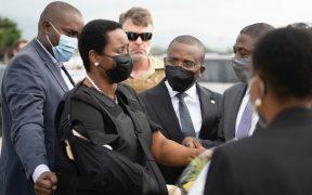 La viuda del presidente asesinado de Haití regresa a su país