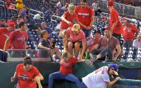 Reportan tiroteo en partido entre Nationals y Padres en Washington