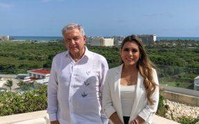 López Obrador se reúne con Evelyn Salgado, gobernadora electa de Guerrero