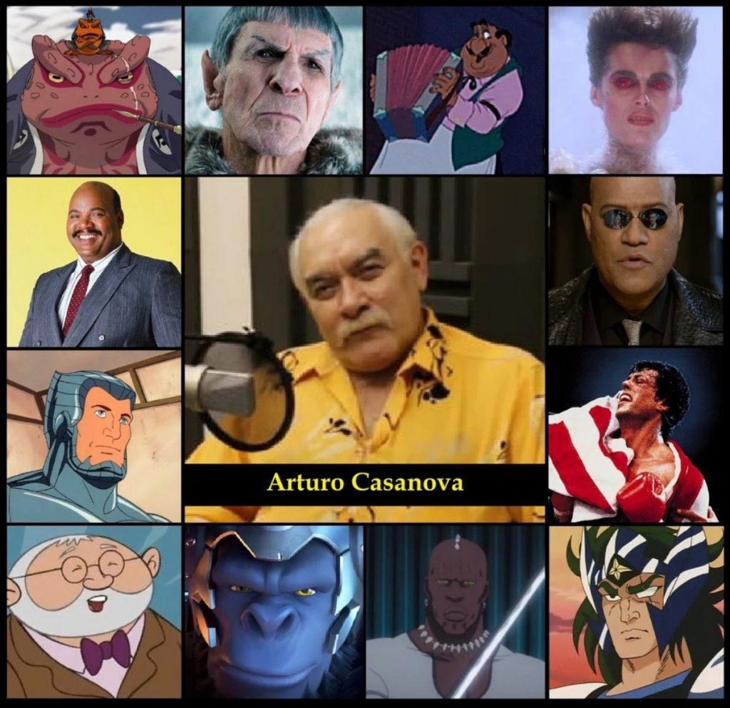 Murió el actor Arturo Casanova, voz de Rocky Balboa y Gamabunta de Naruto