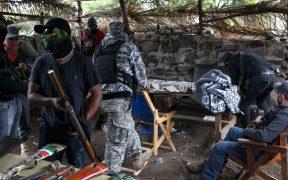"""""""No tomamos las armas por gusto"""", dice fundador de autodefensas de Michoacán tras amenazas de CJNG a fuerzas armadas"""