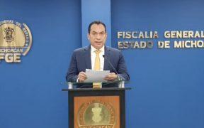 Detienen a 3 presuntos responsables del asesinato del periodista Abraham Mendoza, informa FGE Michoacán
