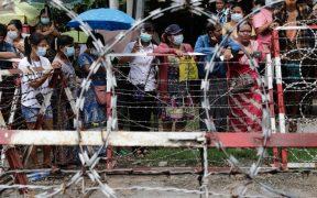 Tribunales militares han dictado 65 penas de muerte en Birmania, según HRW