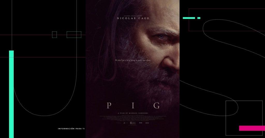 'Pig', de Nicolas Cage, se estrenará en Europa durante el Festival de Cine de Edimburgo