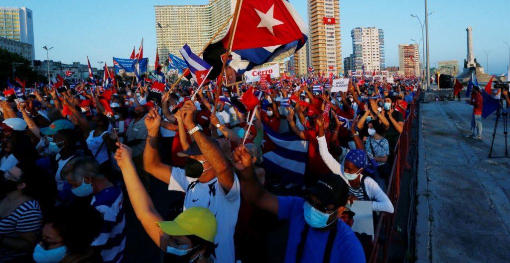 El gobierno de Cuba niega la existencia de desaparecidos tras protestas