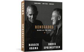 El libro de Barack Obama y Bruce Springsteen 'Renegades' saldrá a la venta en octubre