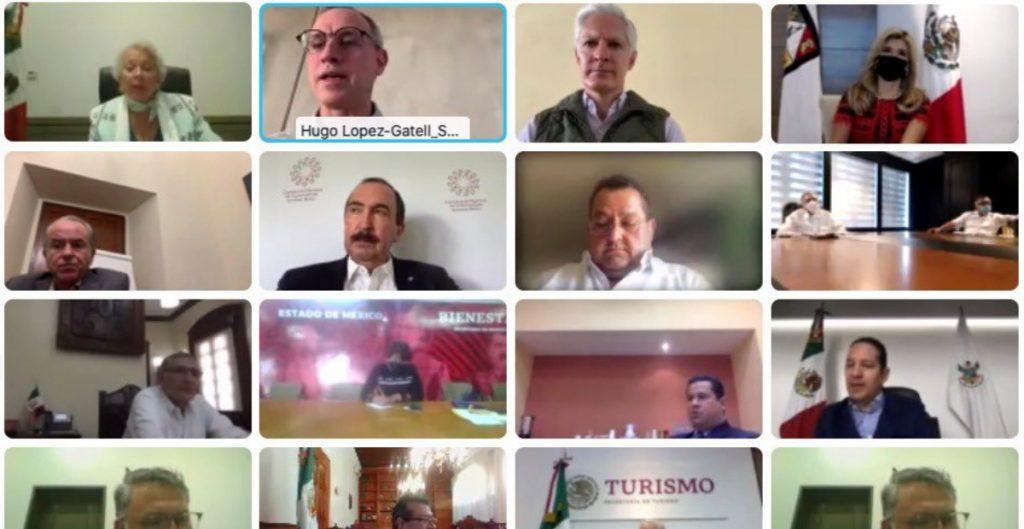 Sánchez Cordero y gobernadores se reúnen para tratar nuevos criterios del semáforo Covid
