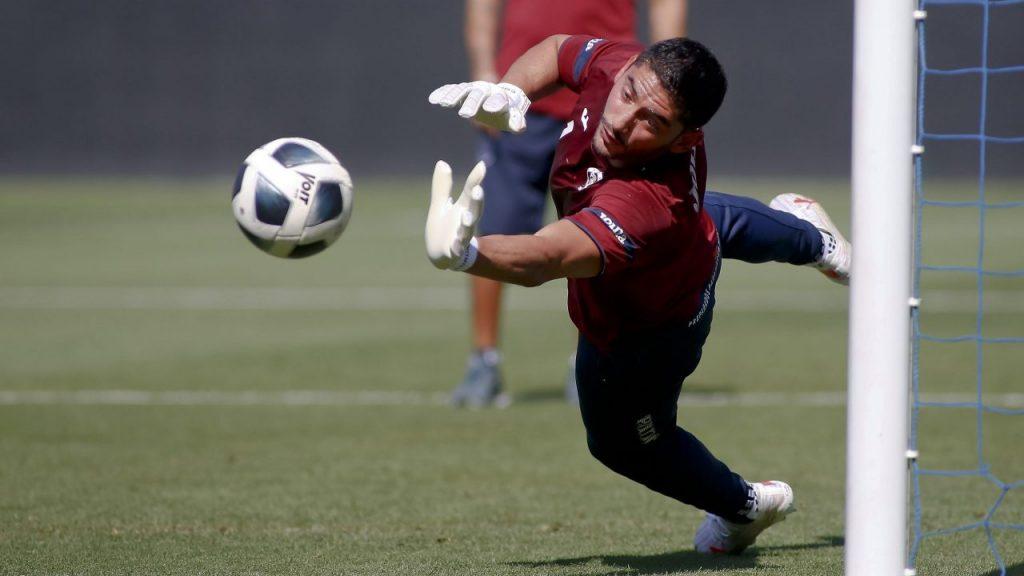 Corona se fracturó en el entrenamiento. (Foto: Mexsport).