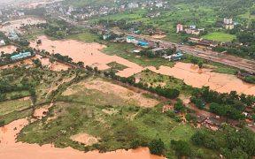Lluvias en el oeste de la India dejan al menos 43 muertos