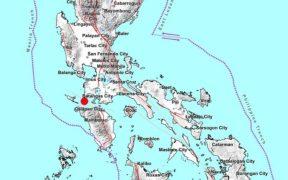 Terremoto de 6.7 grados Richter se produce en Hukay, Filipinas