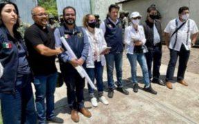 CNDH, gobierno federal y pobladores de Aguililla participan en mesa de diálogo para la pacificación de la zona