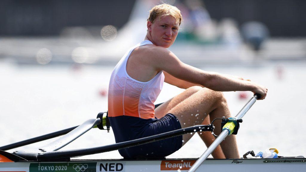 Florijn no pudo continuar compitiendo en el remo de Tokio. (Foto: Reuters).