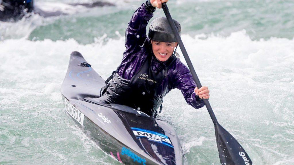 Reinoso se coló a semifinales de la prueba de kayak. (Foto: @CONADE).