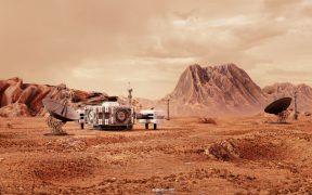 La NASA logró determinar la estructura interna de Marte