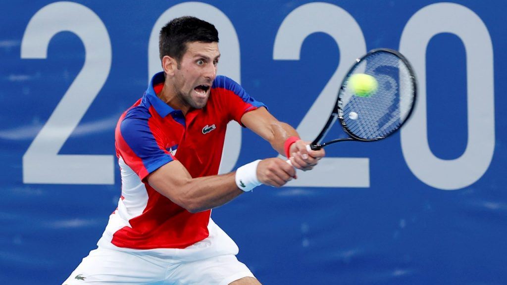 Djokovic superó sin problemas al alemán Jan-Lennard Struff. (Foto: EFE).
