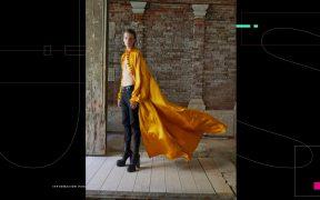 Saint Laurent presentó la colección 2022 de hombre con una instalación de arte en Venecia