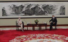 """EU plantea a China preocupación por acciones que debilitan el orden internacional """"basado en reglas"""""""