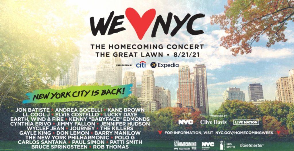 Patti Smith, Carlos Santana y The Killers se unen a megaconcierto en Nueva York