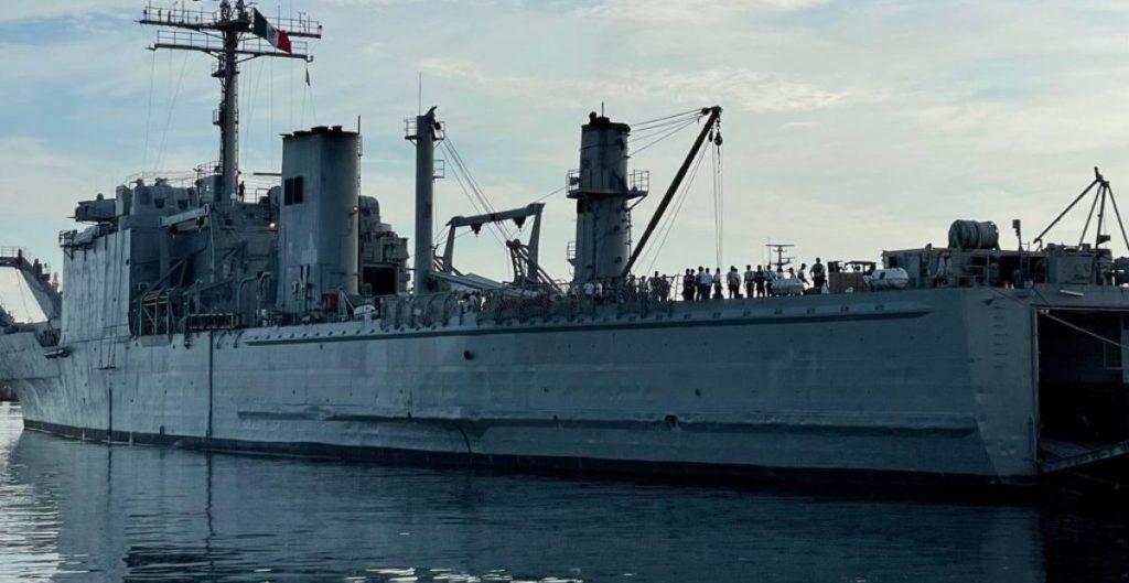 México envía a Cuba un segundo buque con material médico y alimentos